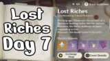 Lost Riches Event Day 7   LAST DAY!!!   2 New Treasures   Genshin Impact