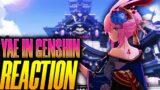 "INAZUMA REACTION| YAE SAKURA ""Genshin Impact"" VERSION+IMPORTANT INFO!"