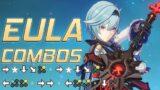 Eula Combos – Girl Plays like a Fighting Game   Genshin Impact