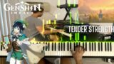 Genshin Impact OST Piano – Tender Strength