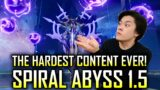 The HARDEST CHALLENGE EVER in Genshin Impact | Spiral Abyss Floor 11 and 12 Showcase (Patch 1.5)