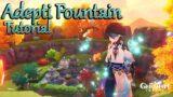 Adepti Fountain Tutorial Housing Serenitea Pot – Teapot [Genshin Impact]