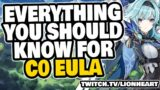 EULA TOTALLY ROCKS!! Eula DPS Guide + Gameplay vs ALL BOSSES – Genshin Impact