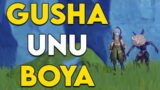 What does Gusha Unu Boya mean in Genshin Impact?