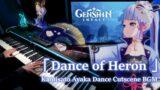 Genshin Impact/Kamisato Ayaka: Dance of Heron (Dance Cutscene) Piano Arrangement