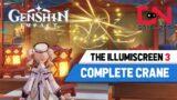 Complete Illumiscreen CRANE Genshin Impact Lantern Rite Tales