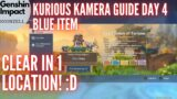 Genshin Impact Kurious Kamera Quest Guide Day 4 Blue Item – Clear in 1 Location! :D