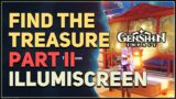 Find the treasure Illumiscreen II Genshin Impact