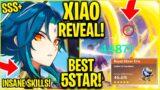 XIAO IS *INSANE*! Genshin Impact Xiao NEW 5 STAR! (Xiao Genshin Banner, new Boss, 1.3 Update)