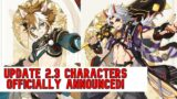 GOROU and ITTO OFFICIALLY ANNOUNCED! Update 2.3 NEW Characters? – Genshin Impact